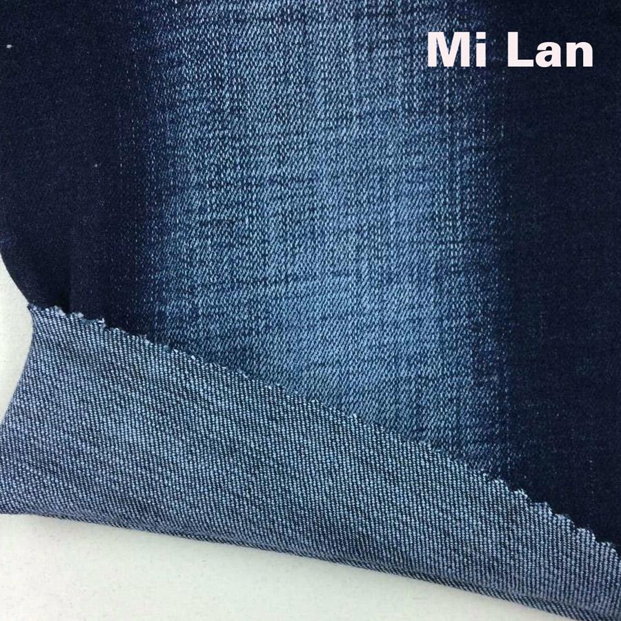 Vải Jean nam thun xước cộng M33