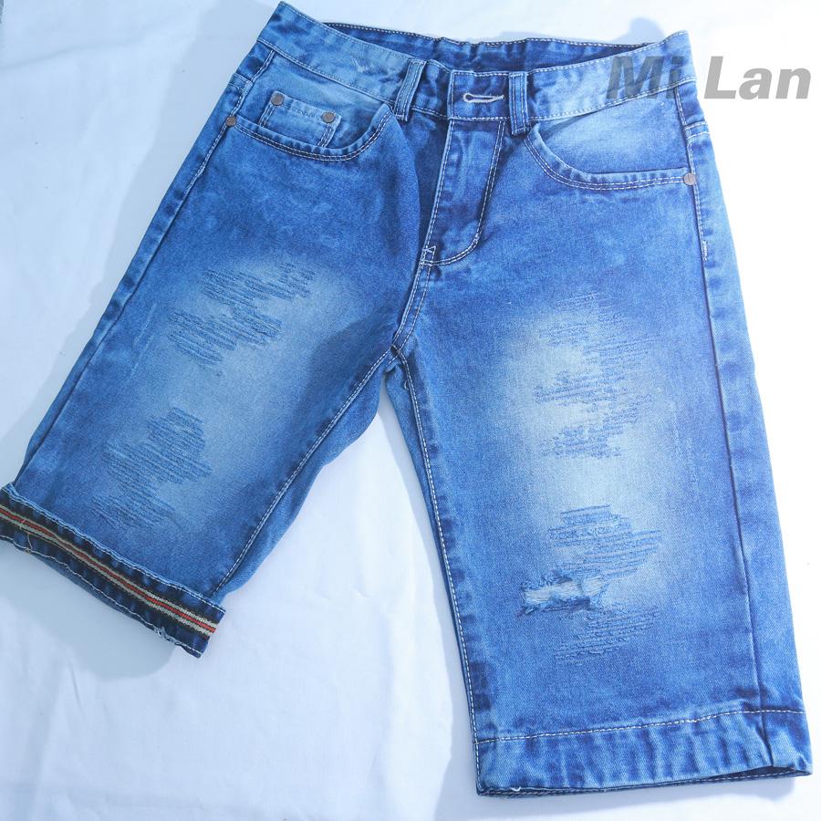 Vải jean cotton nam giá rẻ M508