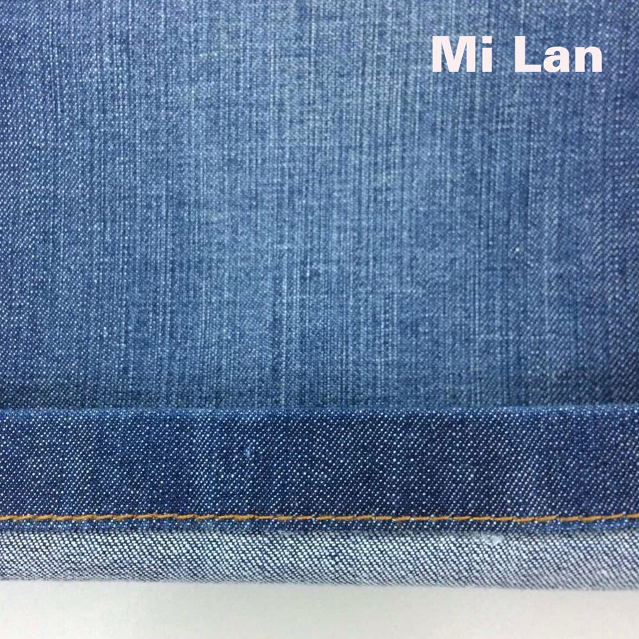 Vải jean cotton thun bé gái S188