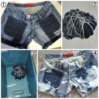 Sơ đồ quy trình thực tế để sản xuất quần áo jean