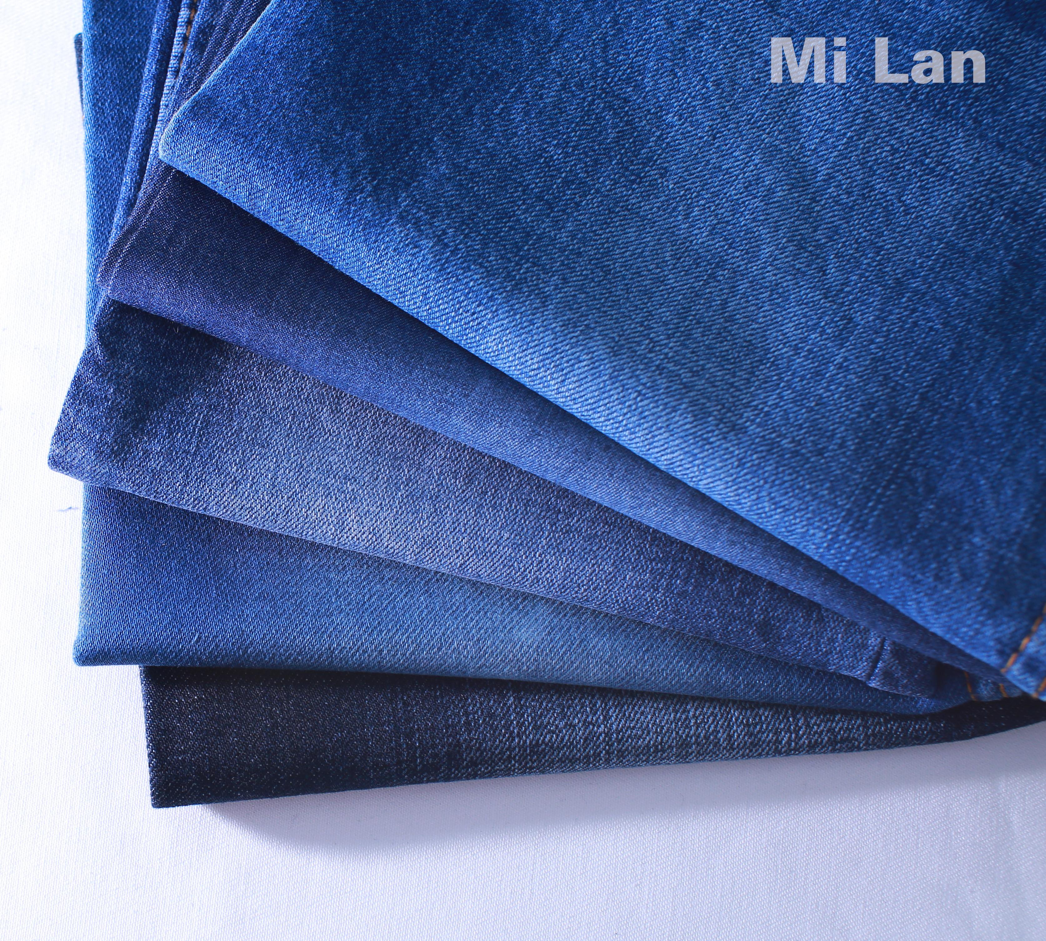 Vải Jean giặt sẵn