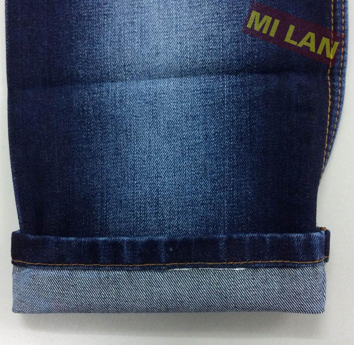 Vải jean cotton 100% xước cộng M39