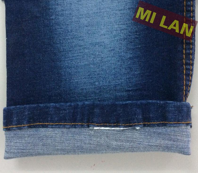 Vải jean T/R thun S308