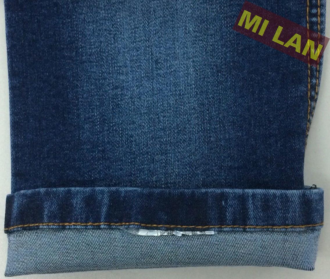 Vải jean nữ cotton thun W65