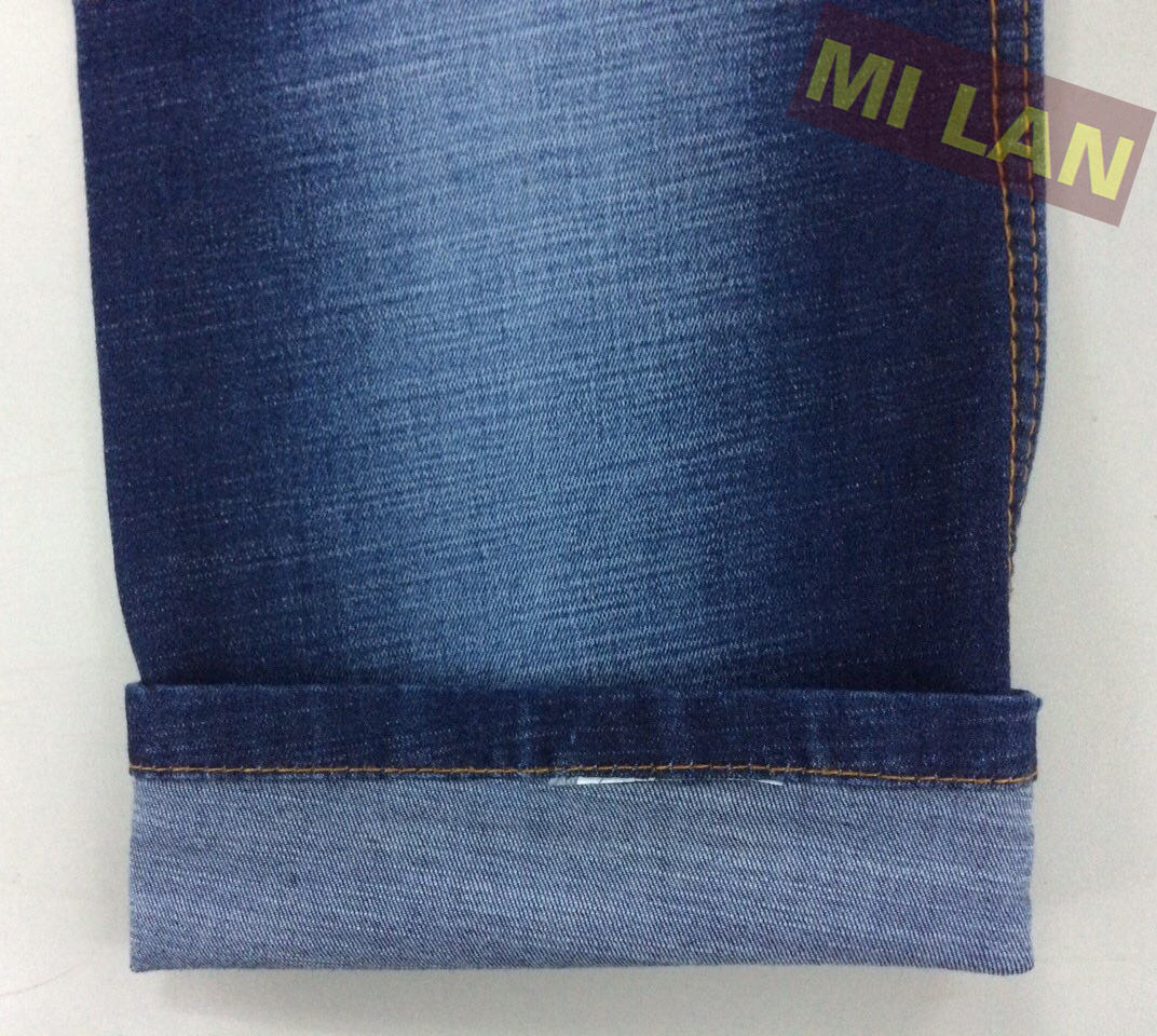 Vải jean cotton thun 9oz K86