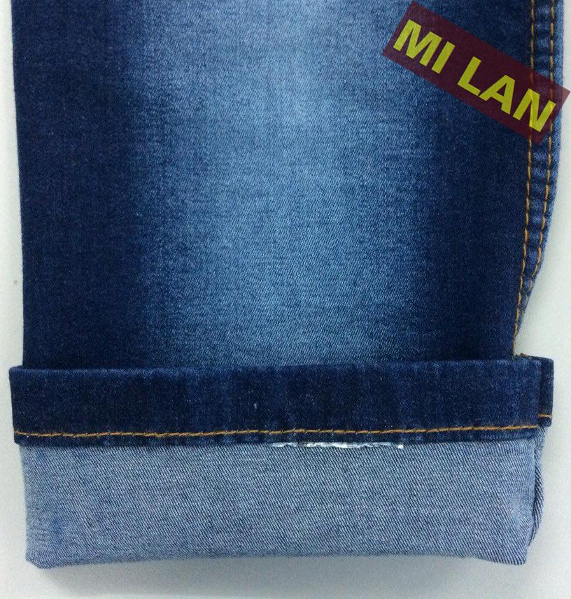 Vải jean cotton thun bé trai S322