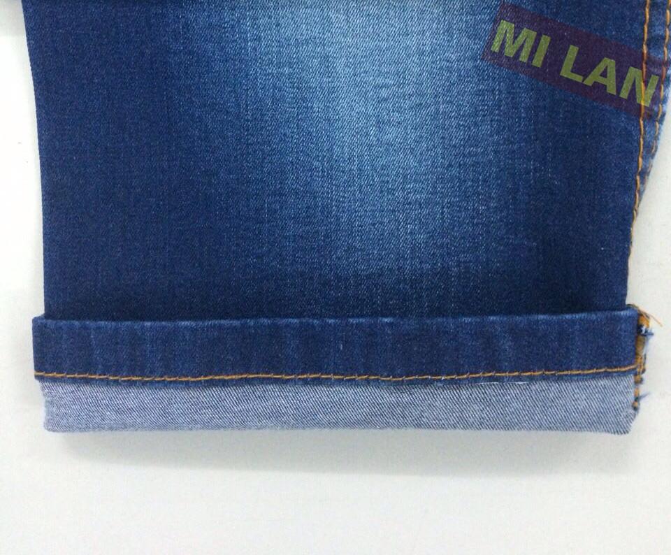 Vải jean cotton thun bé gái K78