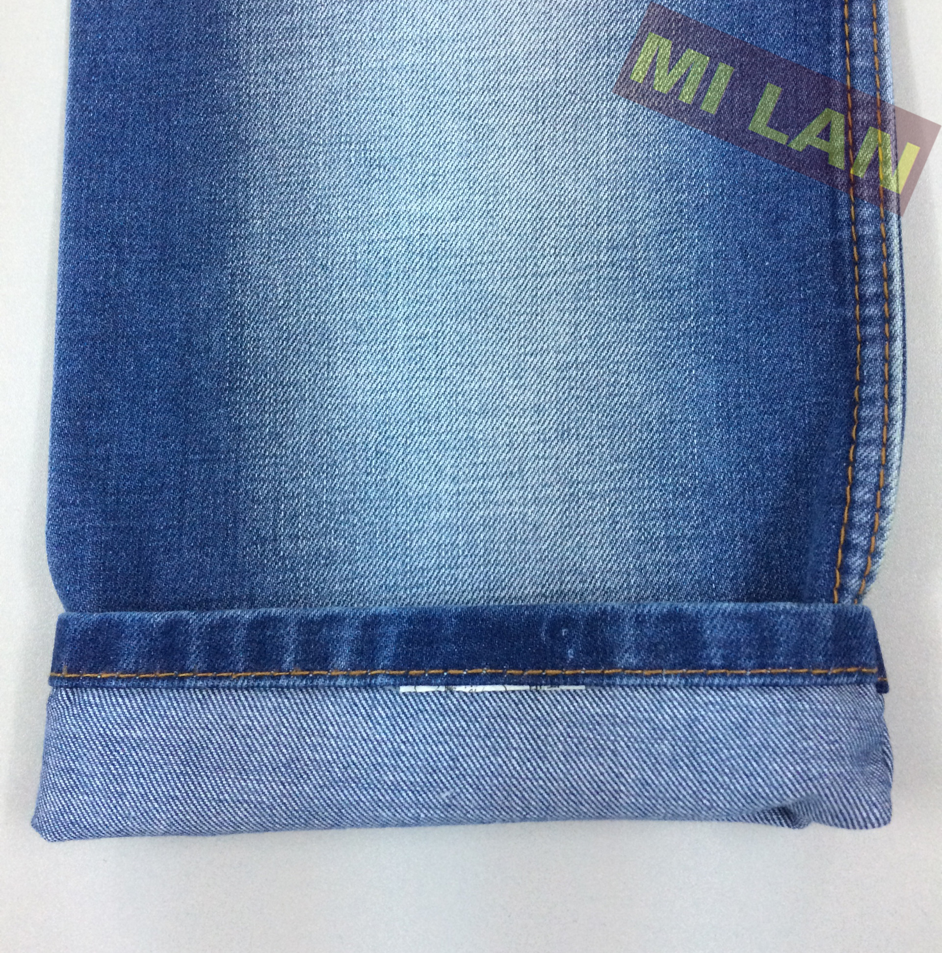 Vải jean cotton nam 12 Oz S329