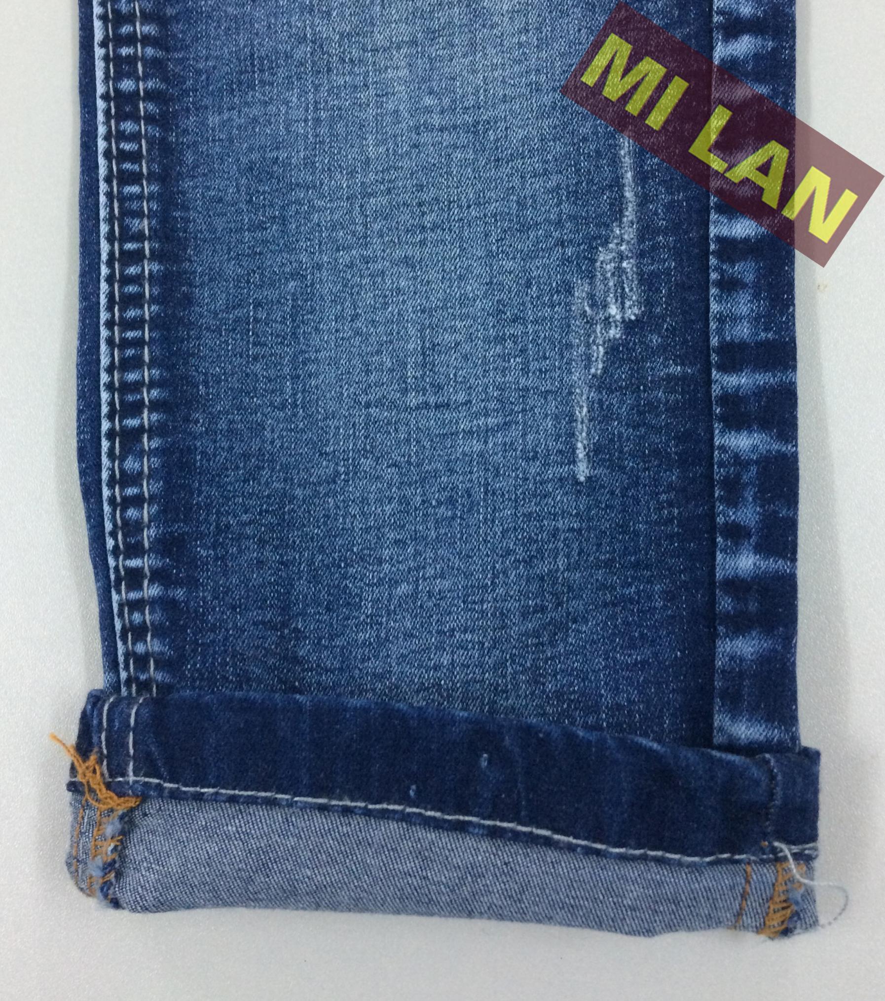Vải jean cotton thun bé trai S338