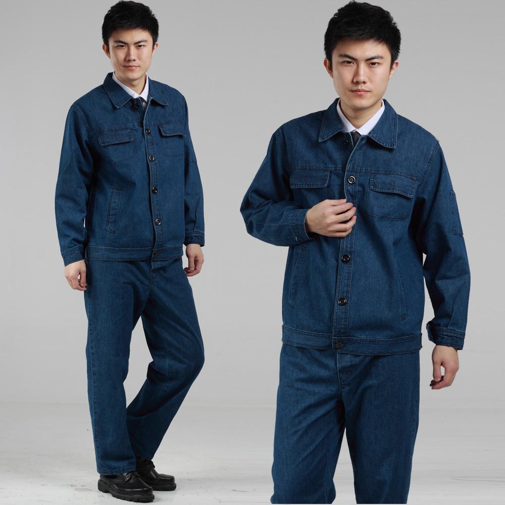 Vải jean cotton may đồ bảo hộ, điện lực