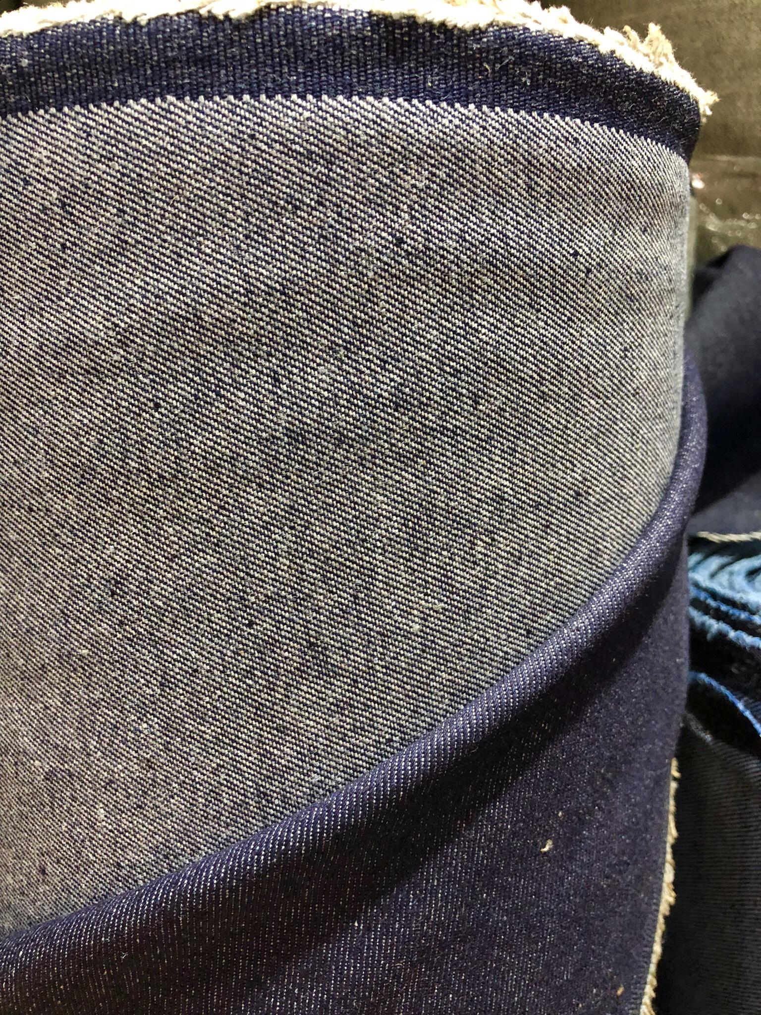 Vải jean cotton 10×7, khổ 1m60