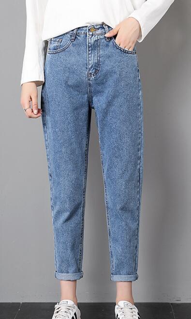 Vải jean may quần baggy nữ 11 Oz